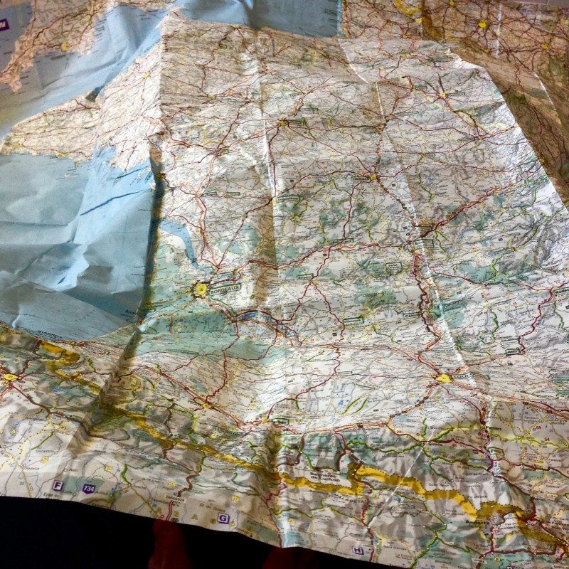 coasts and cols bikepacking map