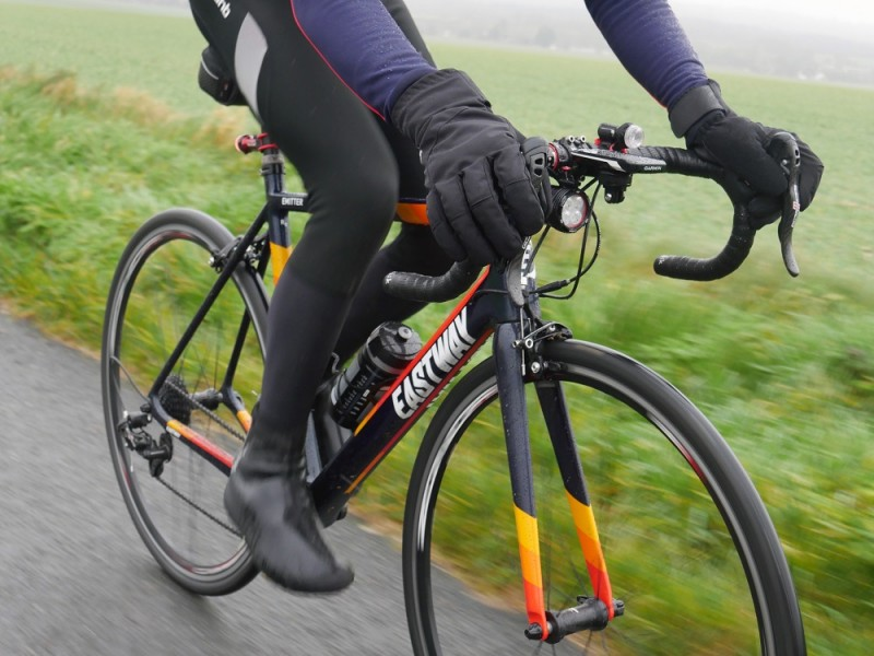 dhb Extreme Winter Gloves and Extreme Weather Overshoes